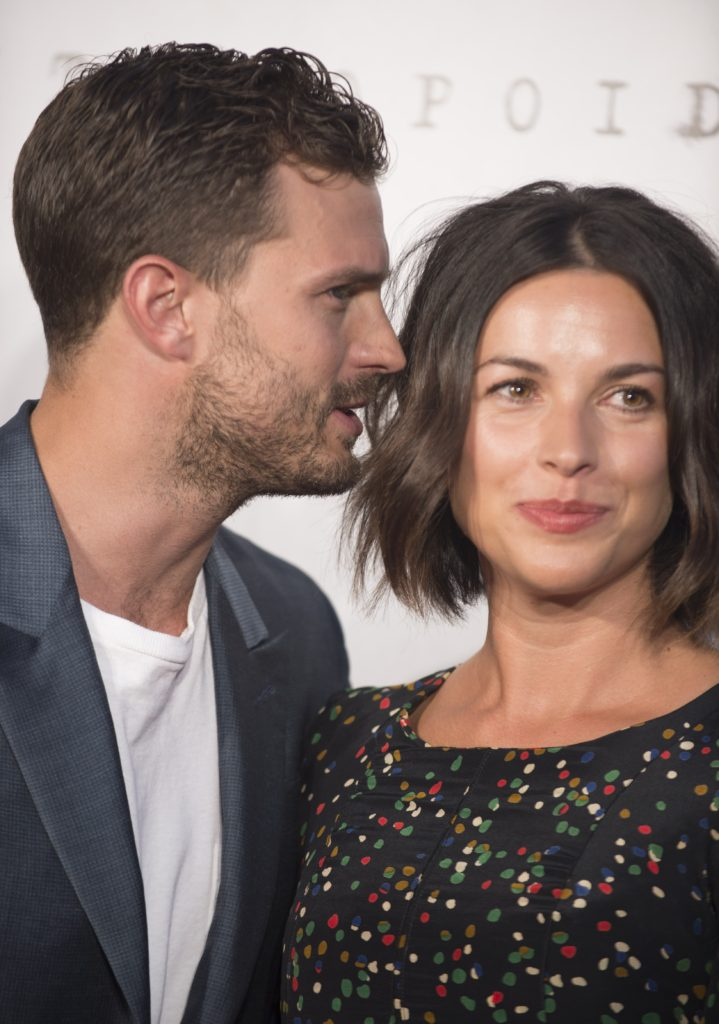 156353, Jamie Dornan and Amelia Warner at the UK premiere of Anthropoid at the BFI Southbank Cinema in London. London, United Kingdom - Tuesday August 30, 2016. Photograph: © Photoshot, PacificCoastNews. Los Angeles Office (PCN): +1 310.822.0419 UK Office (Photoshot): +44 (0) 20 7421 6000 sales@pacificcoastnews.com FEE MUST BE AGREED PRIOR TO USAGE